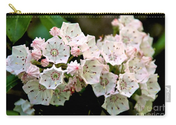 Mountain Laurel Flowers Carry-all Pouch