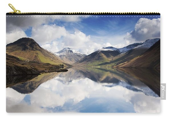 Mountains And Lake, Lake District Carry-all Pouch