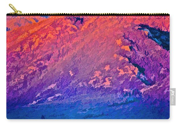 Mt Wheeler At Sunset Carry-all Pouch
