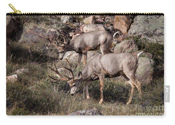 Mule Deer Bucks Carry-all Pouch