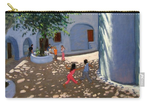 Mykonos Monastery Carry-all Pouch