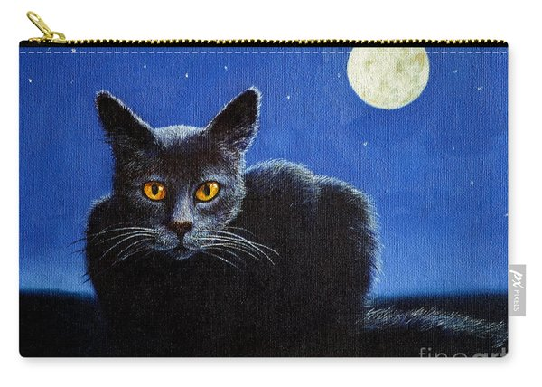 Name Of The Cat Nightmare Carry-all Pouch
