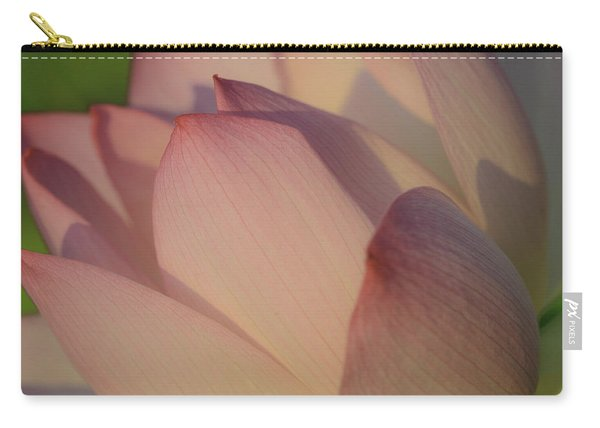 Nelumbo 'red Scarf' Carry-all Pouch