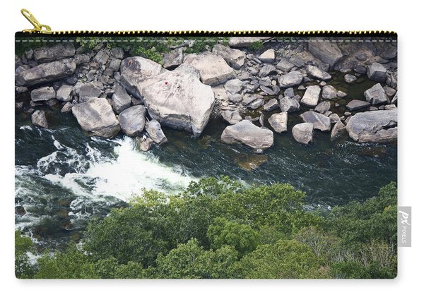 New River Rock Watching Carry-all Pouch