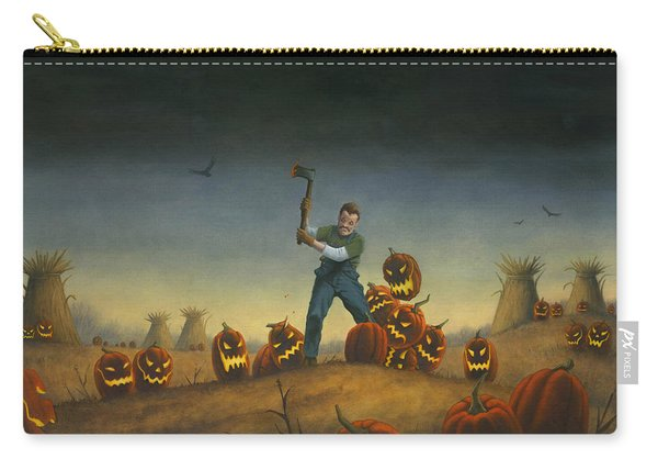 Night Of The Jack-o-lanterns Carry-all Pouch