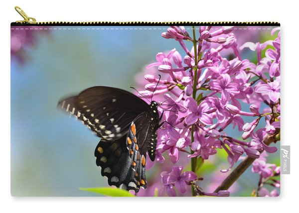 Nothing Says Spring Like Butterflies And Lilacs Carry-all Pouch