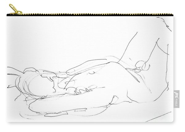 Nude-male-drawings-12 Carry-all Pouch
