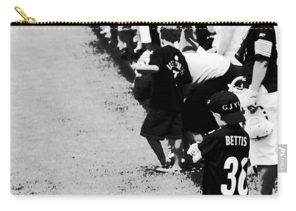 Number 1 Bettis Fan - Black And White Carry-all Pouch