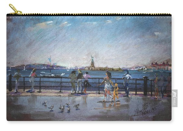 Nyc Grand Ferry Park 2 Carry-all Pouch