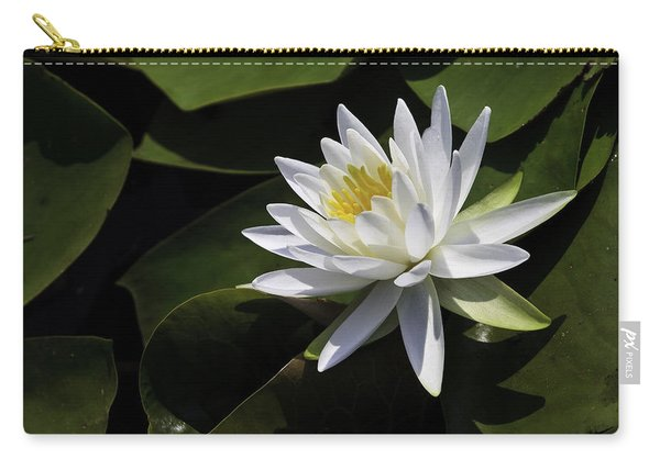Nymphaea Marliacea 'albida' Carry-all Pouch