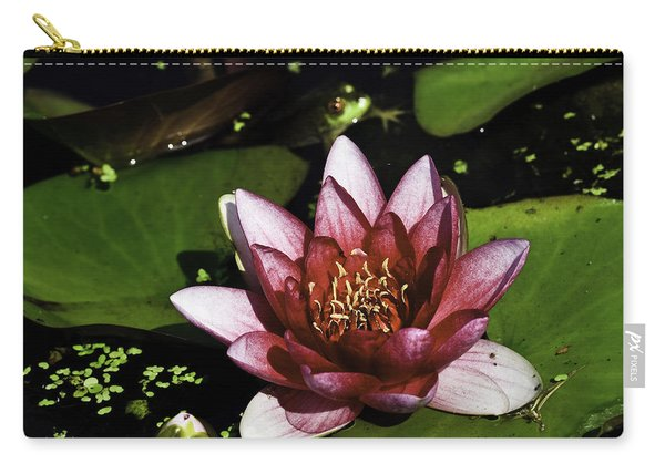 Nymphaea 'steven Strawn' Carry-all Pouch