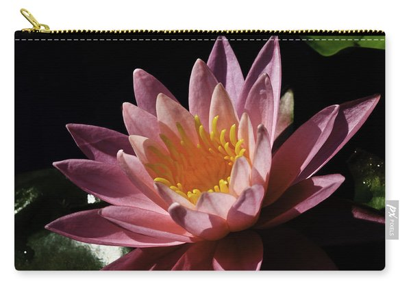 Nymphaea 'sunny Pink' Carry-all Pouch