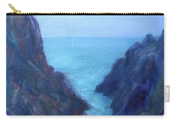 Ocean Chasm Carry-all Pouch