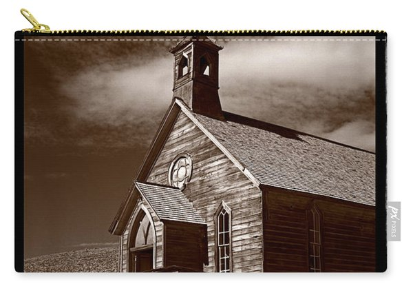 Old Church In Bodie California Carry-all Pouch