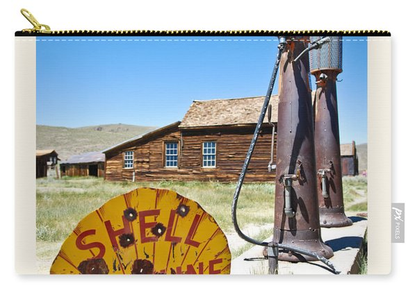 Old Gas Pumps Carry-all Pouch
