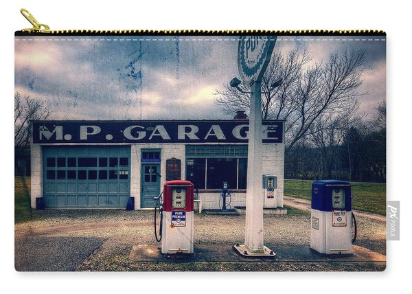 Old  Gas Station  Carry-all Pouch