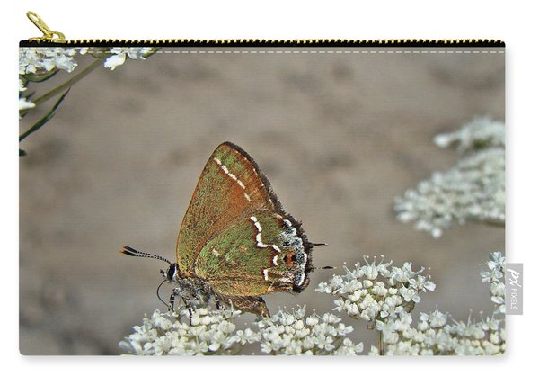 Olive Hairstreak Butterfly - Mitoura Grynea - Juniper Hairstreak Carry-all Pouch