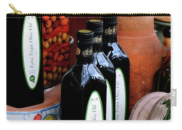 Olives And Olive Oil Carry-all Pouch