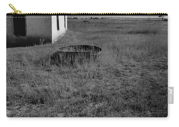 Carry-all Pouch featuring the photograph On The Hi-lo Plains by Ron Cline