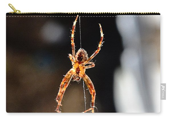 Orange Spider Carry-all Pouch