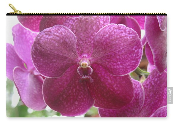Orchid Cluster Carry-all Pouch