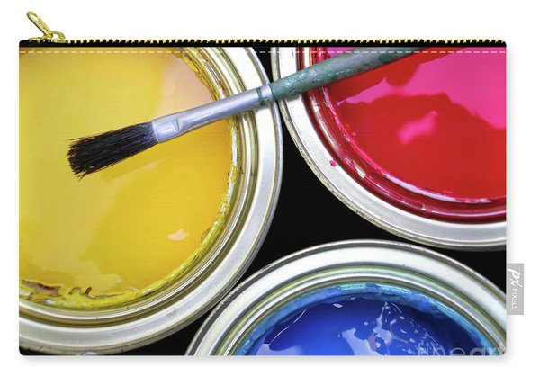 Paint Cans Carry-all Pouch
