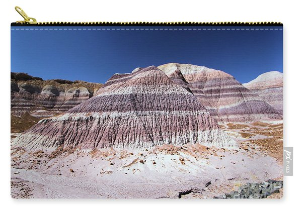 Painted Erosion Carry-all Pouch