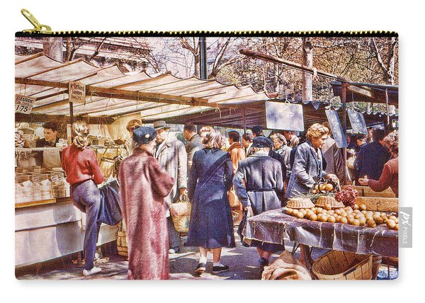 Parisian Market 1954 Carry-all Pouch