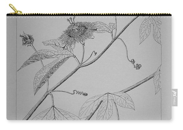 Passionflower Vine Carry-all Pouch
