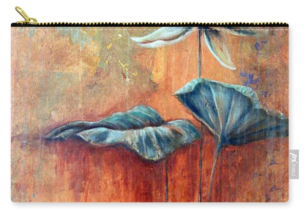 Patina Lotus Carry-all Pouch