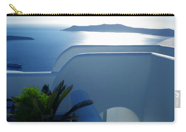 Peaceful Sunset Santorini Carry-all Pouch