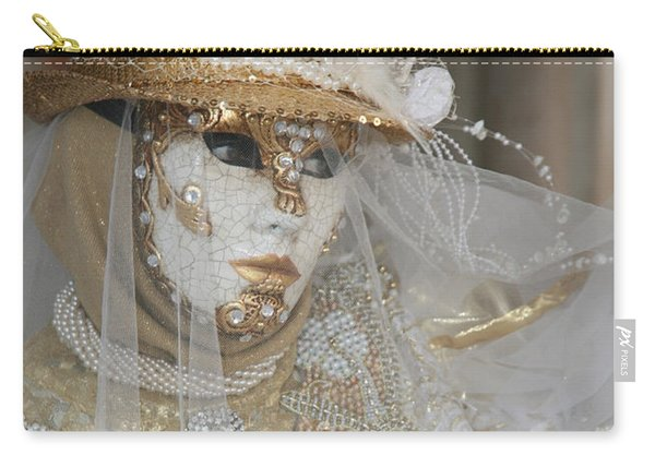 Pearl Bride With Rose 2 Carry-all Pouch