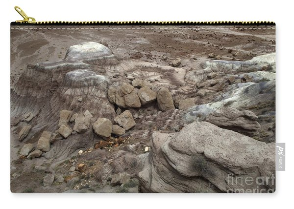Petrified Forest Landscape 3 Carry-all Pouch