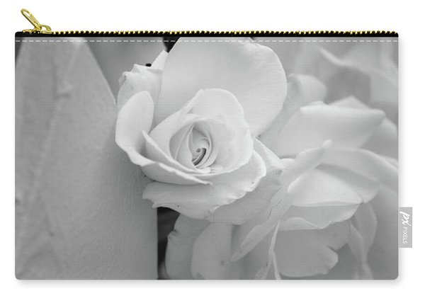 Picket Rose Carry-all Pouch