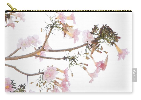 Pink Blossoms In Panama Carry-all Pouch
