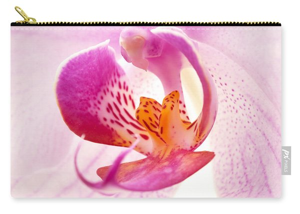 Pink Phalaenopsis Carry-all Pouch