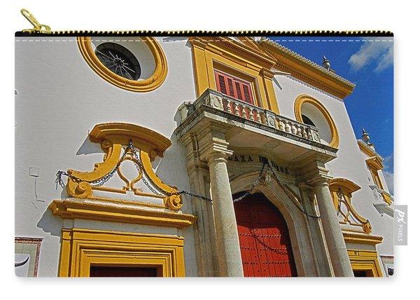 Plaza De Toros De La Maestranza - Seville  Carry-all Pouch