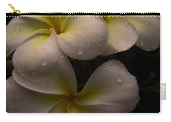 Plumeria Carry-all Pouch
