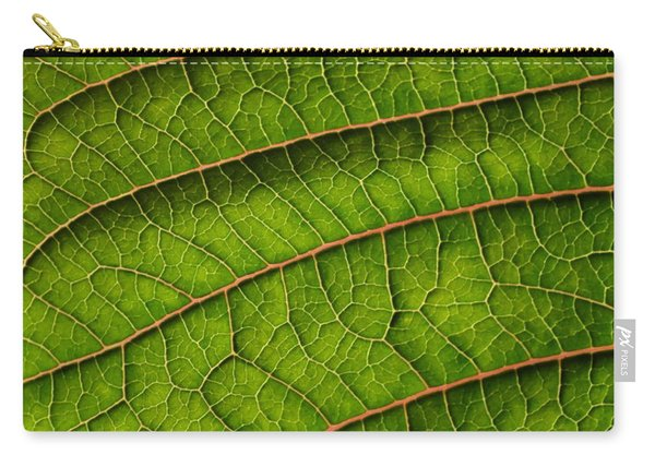 Poinsettia Leaf II Carry-all Pouch