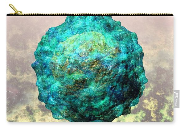 Polio Virus Particle Or Virion Poliovirus 1 Carry-all Pouch