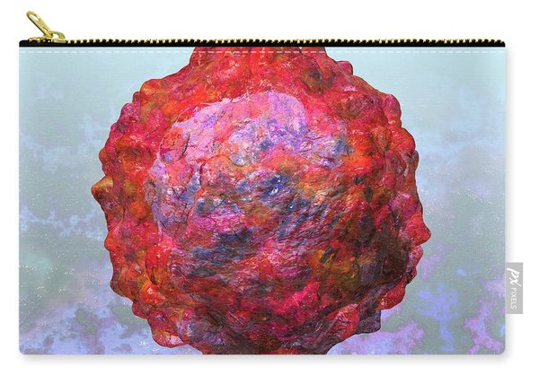 Polio Virus Particle Or Virion Poliovirus 2 Carry-all Pouch