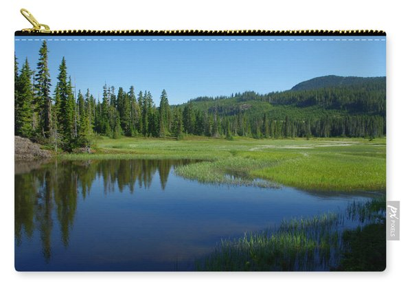 Pond Reflection Carry-all Pouch