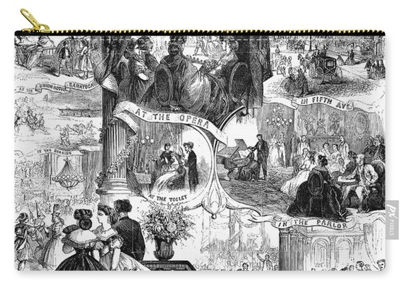Poor New York, 1865 Carry-all Pouch