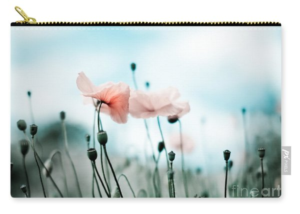 Poppy Flowers 02 Carry-all Pouch