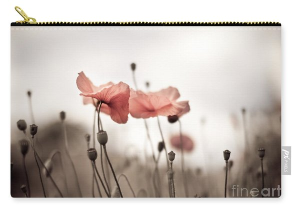 Poppy Flowers 03 Carry-all Pouch