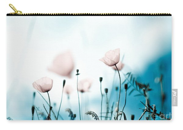 Poppy Flowers 11 Carry-all Pouch