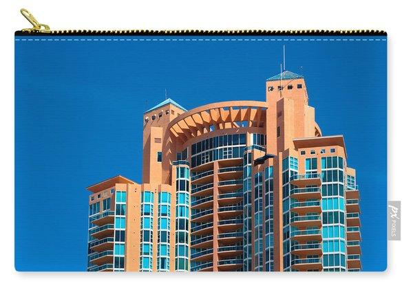 Portofino Tower At Miami Beach Carry-all Pouch