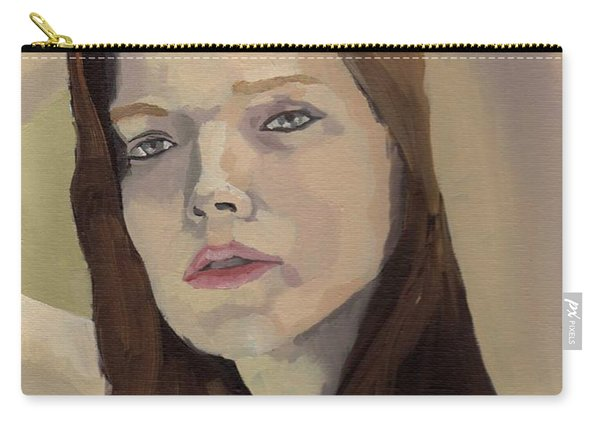 Portrait Of Ashley Carry-all Pouch