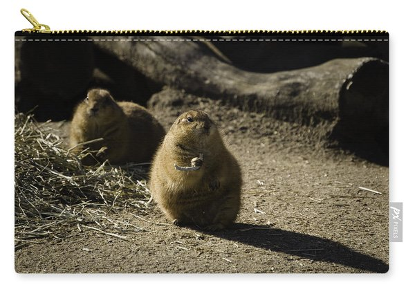 Prairie Dog Sees The Shadow Carry-all Pouch