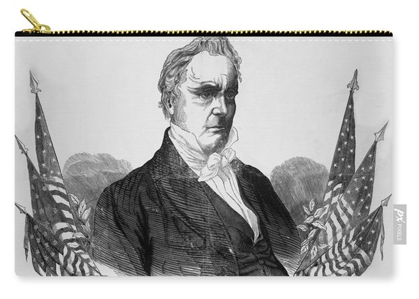 Presidnet Of The United States - James Buchanan  Carry-all Pouch
